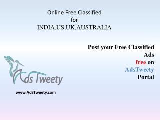 AdsTweety Free Classified Directory