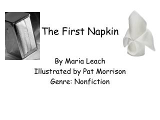 The First Napkin