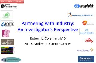 Partnering with Industry: An Investigator's  Perspective