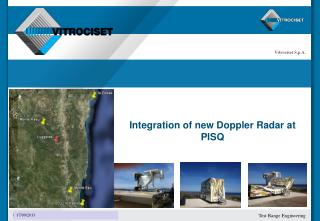 Integration of new Doppler Radar at PISQ
