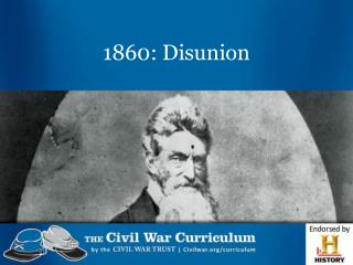 1860: Disunion