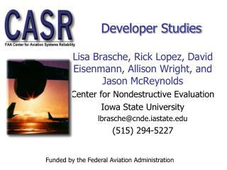 Developer Studies