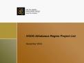 OSDG Athabasca Region Project List