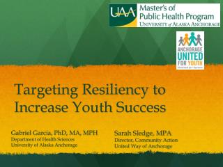 Targeting Resiliency to Increase Youth Success