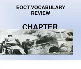 EOCT VOCABULARY REVIEW