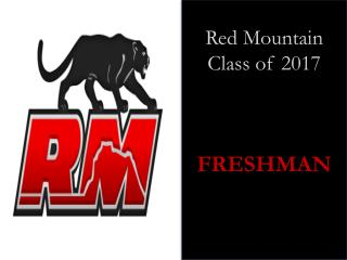 Red Mountain Class of 2017