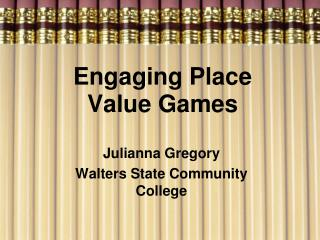 Engaging Place Value Games