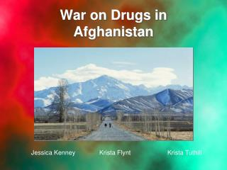 War on Drugs in Afghanistan