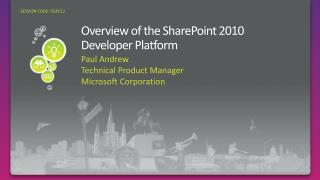 Overview of the SharePoint 2010 Developer Platform