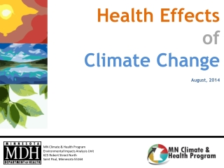 Earth s Climate and Climate Change