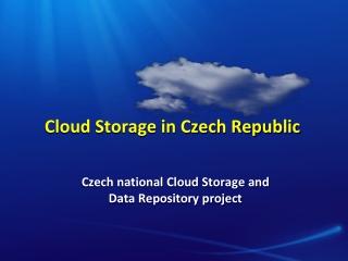 Cloud Storage in Czech Republic