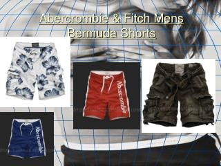Abercrombie & Fitch Mens Bermuda Shorts