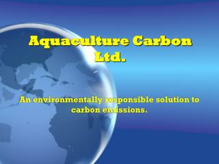 Aquaculture Carbon Ltd.