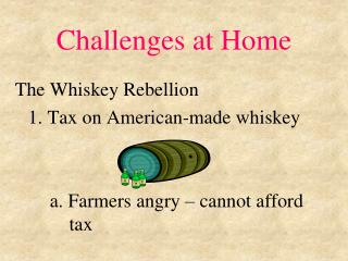 Challenges at Home