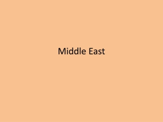 The Ancient Middle East: Mesopotamia, Egypt, Phoenicia, Israel