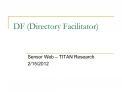 DF Directory Facilitator