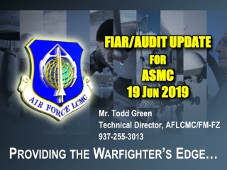 DFAS Audit Readiness Support