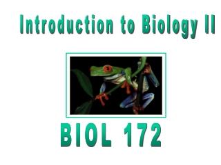 Biology II