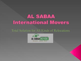 How to Pick Movers in Dubai, Emirates