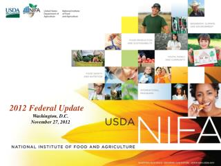 2012 Federal Update  Washington, D.C.  November 27, 2012