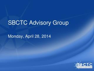 SBCTC Advisory Group