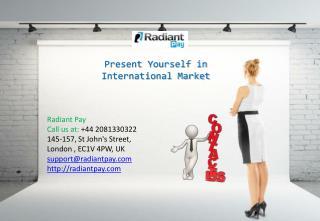 Present Yourself in International Market