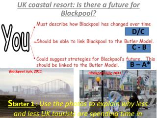 UK coastal resort: Is there a future for Blackpool?
