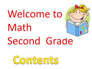 Welcome to Math Second   Grade