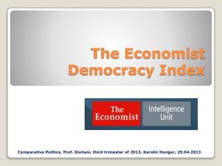 The Economist Democracy Index