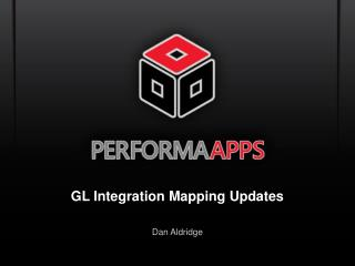 GL Integration Mapping Updates