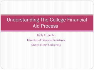 Understanding The College Financial Aid Process