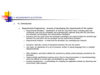 4. REQUIREMENTS ELICITATION