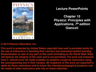 Chapter 15 The Laws of Thermodynamics