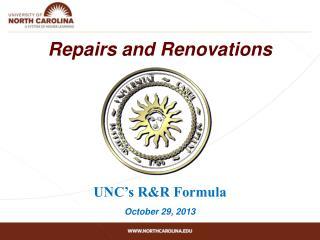 Repairs and Renovations