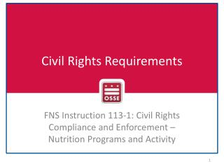 Civil Rights Requirements