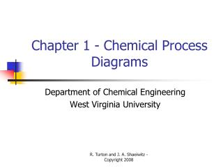 Chapter 1 - Chemical Process Diagrams