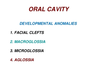How to diagnose oral ulcers
