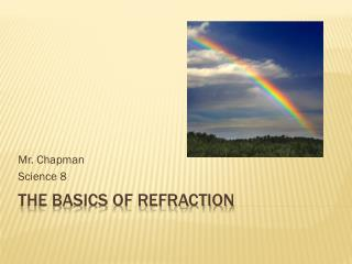 The Basics of Refraction
