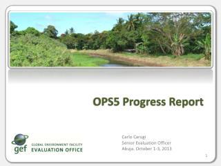 OPS5 Progress Report