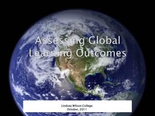 Assessing Global Learning Outcomes