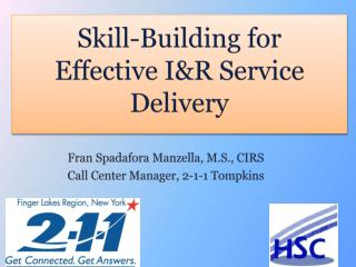 Skill-Building for Effective I&R Service Delivery