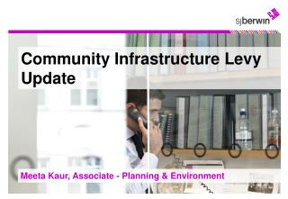 Community Infrastructure Levy Update