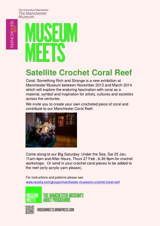 Satellite Crochet  Coral Reef