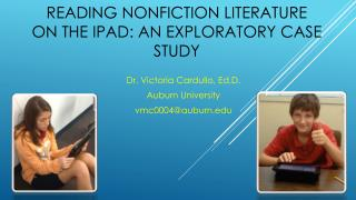 READING  NONFICTION LITERATURE  ON THE IPAD: AN EXPLORATORY CASE STUDY