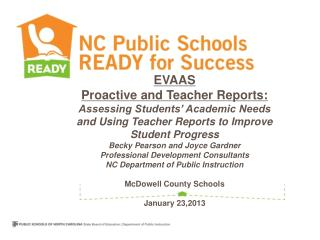 EVAAS Reflective Report Review and Scavenger Hunt