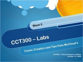 CCT300 – Labs