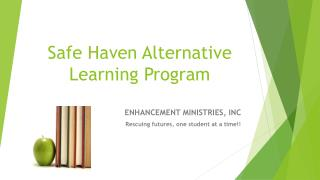 Safe Haven Alternative Learning Program