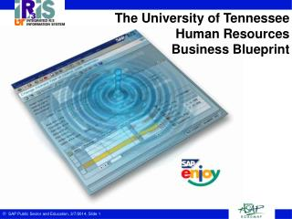 The University of Tennessee Human Resources Business Blueprint