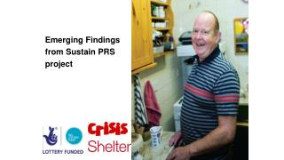 Emerging Findings from Sustain PRS  project