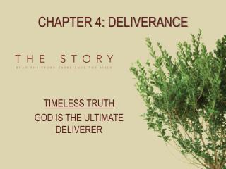 Chapter 4: Deliverance